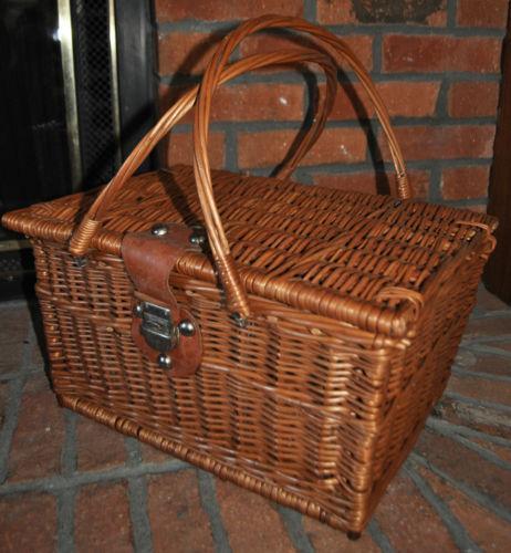 Buy Coniston Wicker Storage Basket: Vintage Wicker Basket