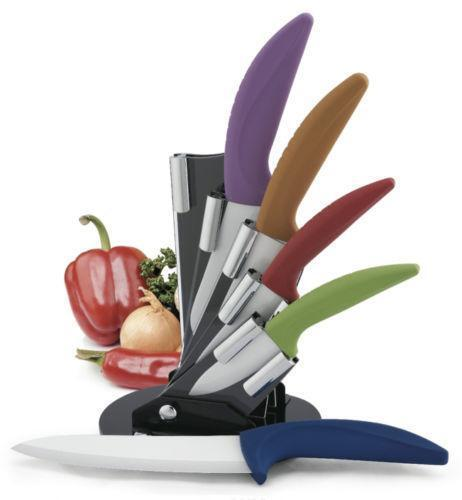 Colored Ceramic Knives Set Ebay
