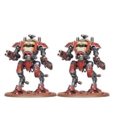 ML Warhammer 40,000 Adeptus Mechanicus 2 Armiger Warglaives on Sprue