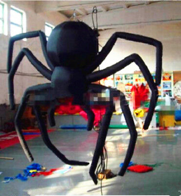 Giant Party Decoration Halloween Inflatable Hanging Spider for Sale 3 meters s* - Giant Spider Decorations For Halloween
