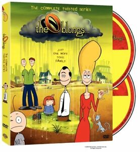 Oblongs-Complete Series 2 DVD set-Like new + bonus dvd