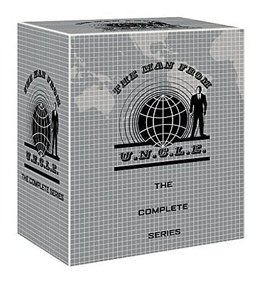 The Man From U N C L E  Uncle    Complete Series   Brand New 41 Disc Dvd Set