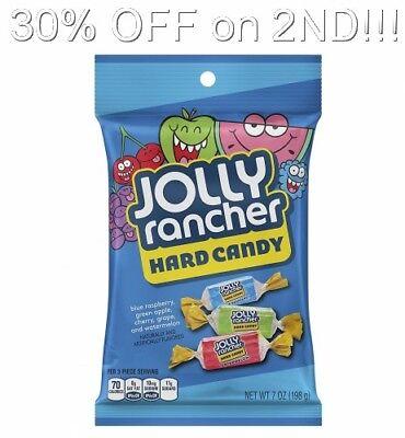 Jolly Rancher Blue Raspberry (Jolly Rancher Hard Candy, Blue Raspberry Green Apple Cherry Grape Watermelon)