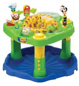 Farmyard Exersaucer - Snack Tray, Unisex,Heights,Washable, Etc