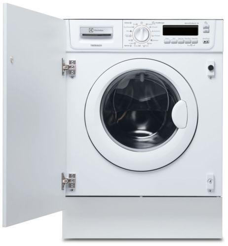 built in washing machine ebay. Black Bedroom Furniture Sets. Home Design Ideas