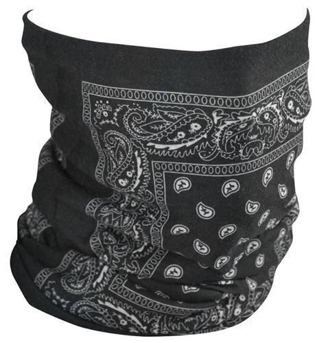 Paisley Multi Functional Seamless Tube Neck Warmer Face Mask