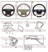 Volvo Wood Steering Wheel