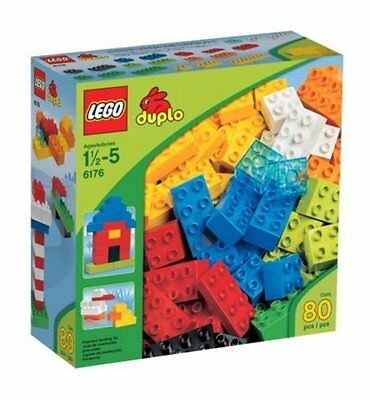 - LEGO 6176 DUPLO Basic Bricks Deluxe (80 Pcs.) - Brand New in Damaged Box