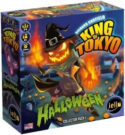 Halloween Monster Pack for King of Tokyo Board Game