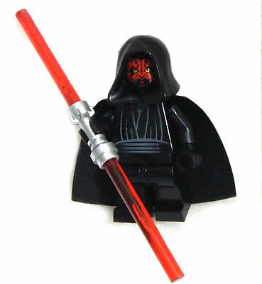 New Lego Star Wars Darth Maul Minifig Original Version Figure Minifigure 7101