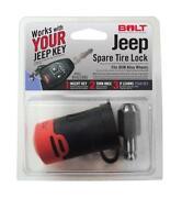 Jeep Spare Tire Rack