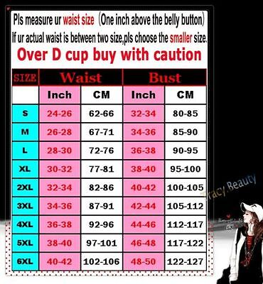 Costumes Lace up Overbust Corset Top Bustier Steampunk Waist Trainer Cincher LCS](Bustier Costumes)
