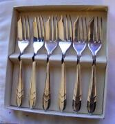 Silverplate Pastry Forks