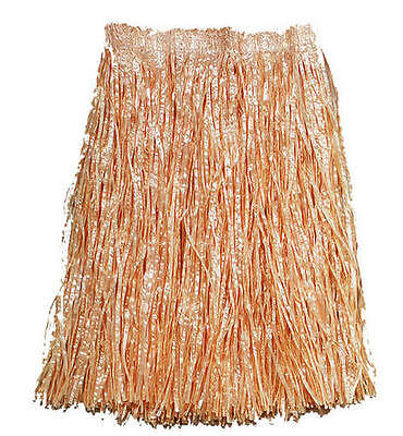 Adult Grass Skirt Beach Hula Hawaian Fancy Dress - Hawaian Costumes