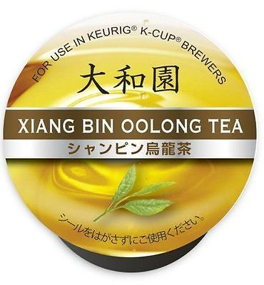 UCC K-CUP Xiang Bin Oolong Tea Capsules 4g × 12 Cups New from Japan