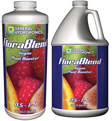 General Hydroponics FloraBlend - gh flora blend vegan tea compost gal qt