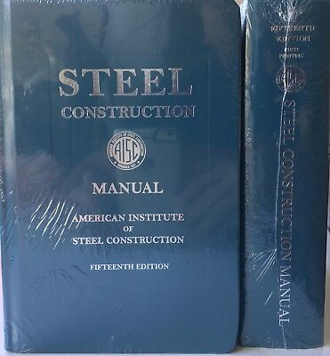 Steel Construction Manual 15th Edition Hardcover – 2017