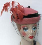 Pillbox Hat Veil