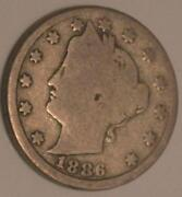 1886 Liberty Head Nickel