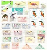 Used Bird Stamps