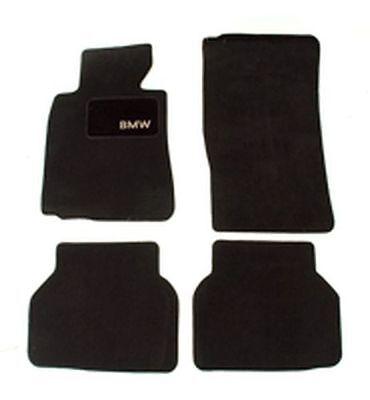 BMW Floor Mats for E39   ALL 5 SERIES 1995   2003  Set of 4 Black  82111469759