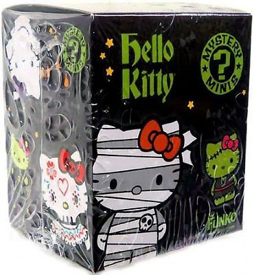 Funko Hello Kitty HALLOWEEN Mini Vinyl Figure Mystery PACK [1 Random Figure]  - Halloween Kitty Games