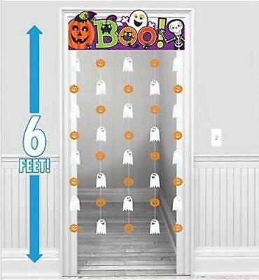 Halloween Familie Freundlich Türvorhang - Freundliche Halloween Dekoration