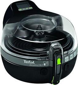 Tefal ActiFry 2-in-1 Low Fat Healthy Fryer, 1.5 kg - Black