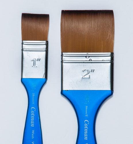 "Winsor Newton Wash Brush 1"" wide List $47.59 NOW $ 19.95"