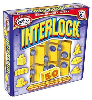 Interlock Brainteaser Puzzle from Popular Playthings  - New / Sealed