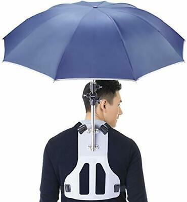 Wearable Self Hand free Umbrella, Sun UV, Rain Blocker For Fishing, Running, New