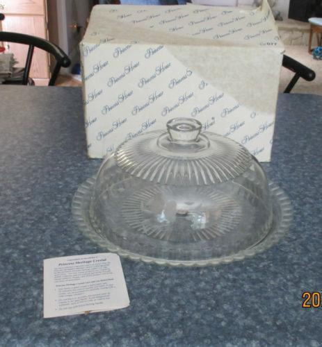 Princess House Crystal Cake Plate Ebay