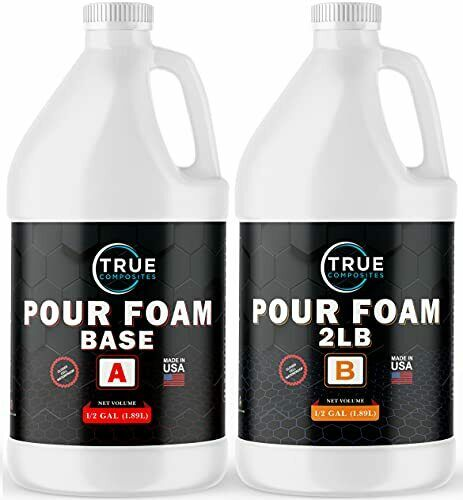 Liquid Expanding Polyurethane Closed Cell 2Ib Foam Flotation Insulation 1 Gallon
