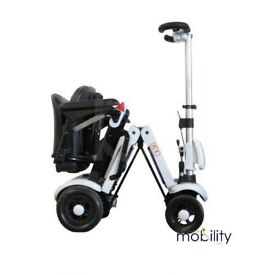 NEW Genie folding mobility scooter