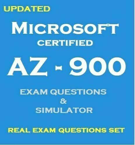 Microsoft Azure Fundamentals AZ-900 Exam questions answers and VCE Simulator