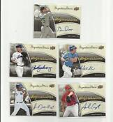 2009 Upper Deck Signature Stars
