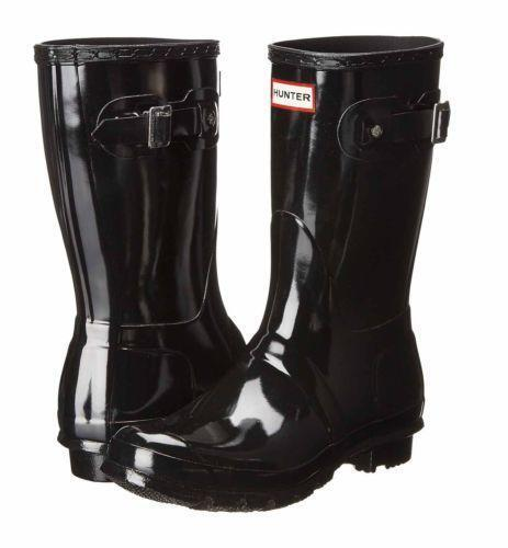 Hunter Rain Boots 8 Black | eBay