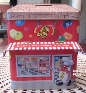 Jelly Belly Beans tin Bank