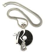 Hip Hop Jewelry Black Chain