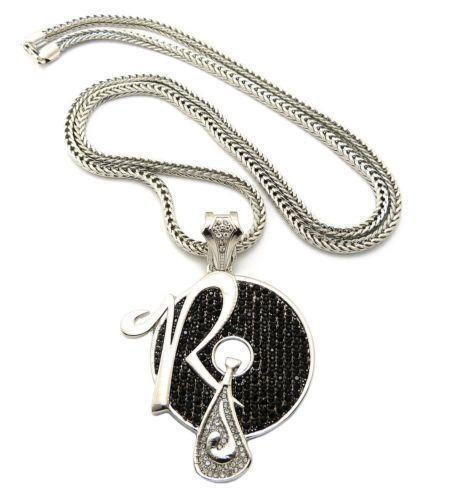 Hip Hop Jewelry Black Chain Ebay