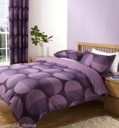 mauve duvet cover ebay. Black Bedroom Furniture Sets. Home Design Ideas