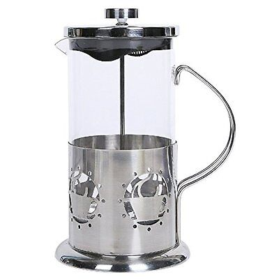 French Press Coffee Maker Set 8 Cup Pot 34oz with Metal Stainless Protect Base NEW
