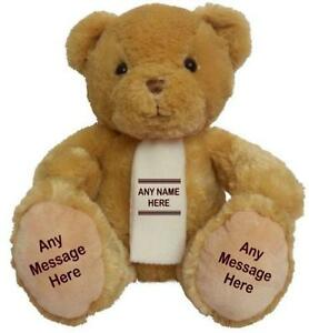Personalised Large Teddy Bear