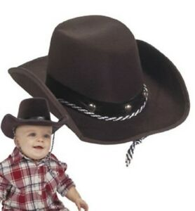 Fun Express Baby Sized Cowboy Western Rodeo Hat OSFA  sc 1 st  eBay : cheap costume cowboy hats  - Germanpascual.Com