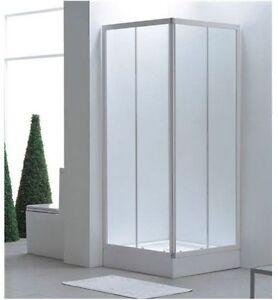 Box doccia angolare bianco vet opaco70x70 75x75 80x80 for Finestra 70x100