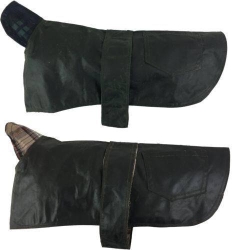 New Wax Dog Coat British Waterproof Cotton Rain Outdoor Windproof Puppy 13