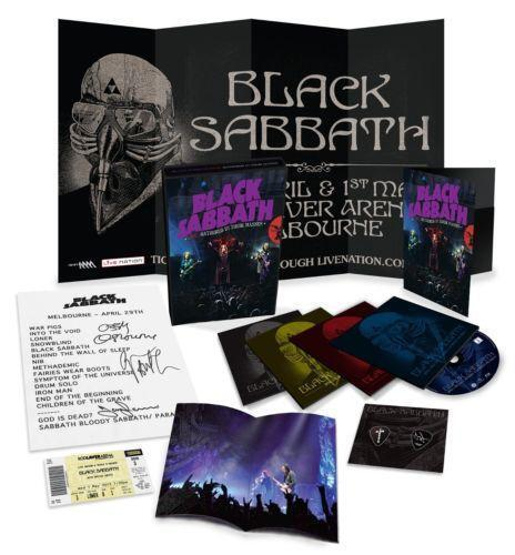 Black Sabbath Box Music Ebay