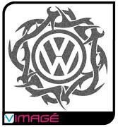 VW camper Stickers