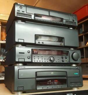 PIONEER COMPONENT STEREO SYSTEM/PHONO/LASERDISC/CD/JAPAN