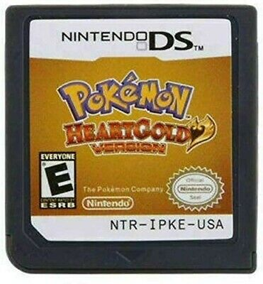 Pokemon: HeartGold Version (Nintendo DS, 2010) BRAND NEW